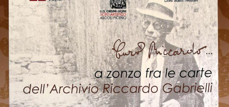 A zonzo fra le carte dell'Archivio Riccardo Gabrielli